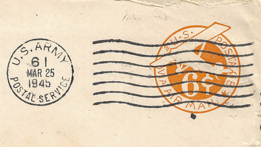 Returning a WWII soldier's letter home