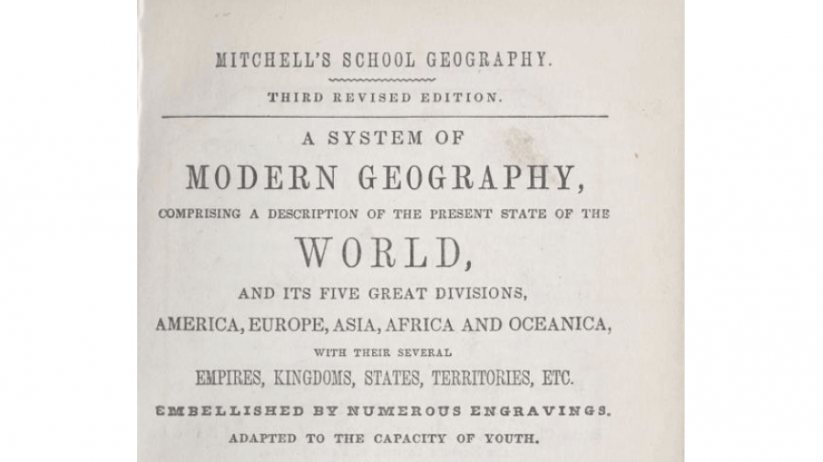 Concord, N.H., 1851 School Text Books